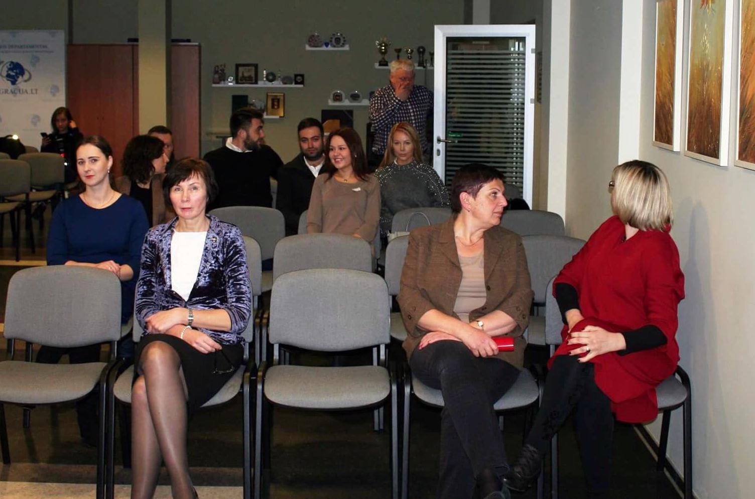 В Департаменте миграции Литвы прошел День открытых дверей